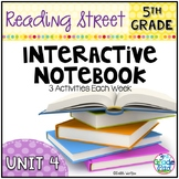 5th Grade Reading Street Interactive Notebook Unit 4: Comm