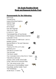5th Grade Reading Street Read and Respond Activity Pack