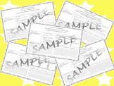 5th Grade Reading Street Skills and Summary Practice Unit 5 weeks 1-5 bundle