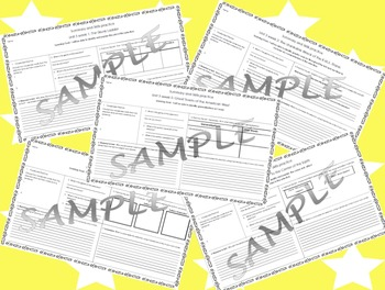 5th Grade Reading Street Skills and Summary Practice Unit 5 weeks 1-5 bundle