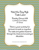 5th Grade Reading Street Task Card- Hold the Flag High(Common Core Edition 2011)