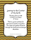 5th Grade Reading Street Task Card- Journey to the Center of the Earth (CC 2011)