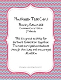 5th Grade Reading Street Task Card- Red Kayak (Common Core