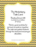 5th Grade Reading Street Task Card- The Hindenburg (Common Core Edition 2011)