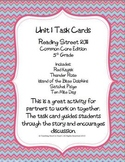 5th Grade Reading Street Unit 1 Task Cards (Common Core Ed