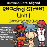 5th Grade Reading Street Unit 1 Trifolds (Common Core Edition 2011)