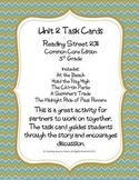 5th Grade Reading Street Unit 2 Task Cards (Common Core Ed