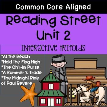 5th Grade Reading Street Unit 2 Trifolds (Common Core Edit