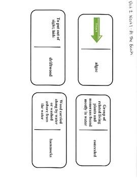 5th Grade Reading Street Unit 2 Vocab Dominoes