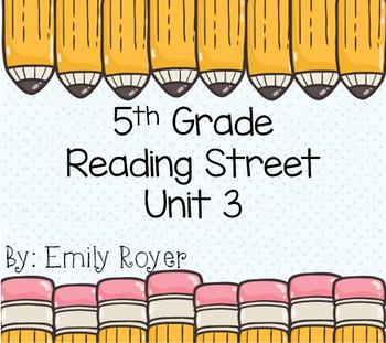 5th Grade Reading Street Unit 3 Materials