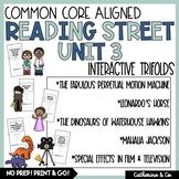 5th Grade Reading Street Unit 3 Trifolds