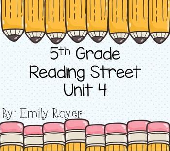 5th Grade Reading Street- Unit 4 Materials