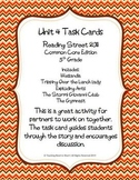 5th Grade Reading Street Unit 4 Task Cards (Common Core Ed