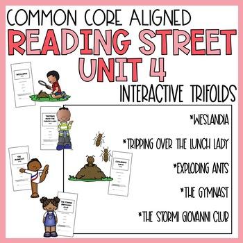 5th Grade Reading Street Unit 4 Trifolds (Common Core Edit