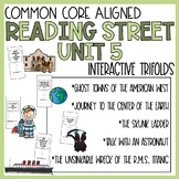 5th Grade Reading Street Unit 5 Trifold Activities