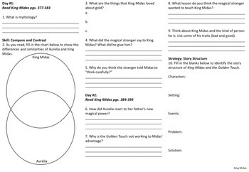 5th Grade Reading Street Unit 6 Trifolds (Common Core Edition 2011)