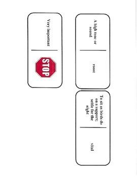 5th Grade Reading Street Unit 6 Vocab Dominoes