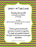 5th Grade Reading Street Units 1-6 Task Cards (Common Core