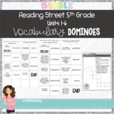 5th Grade Reading Street Units 1-6 Vocabulary Dominoes