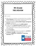 5th Grade Reading TEKS Review - STAAR PREP