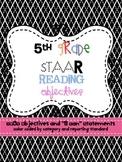 5th Grade Reading TEKS for STAAR