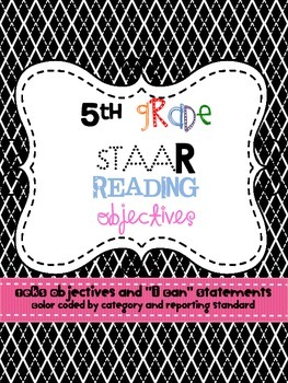 5th Grade Reading TEKS for STAAR