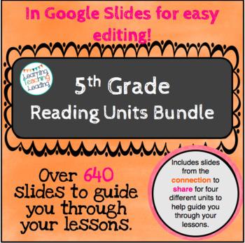 5th Grade Reading Units Bundle