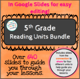 5th Grade Reading Units Bundle