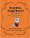 5th Grade Reading Wonders Word Search Activity Unit 1 Week 2