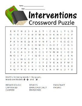 5th Grade Reading Wonders Word Search Activity Unit 1 Week 4