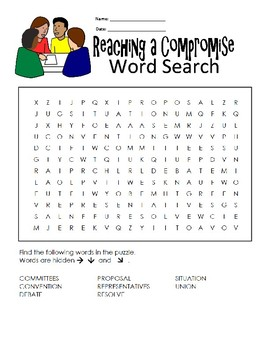 5th Grade Reading Wonders Word Search Activity Unit 2 Week 1