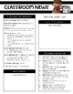 5th Grade Reading Wonders Editable Newsletters Unit One Weeks 1-5