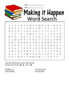 5th Grade Reading Wonders FREEBIE Word Search Activity Unit 2 Week 5