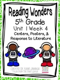 5th Grade Reading Wonders-  Unit 1 - Bundle