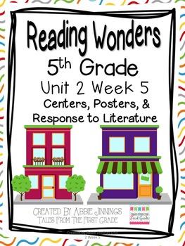 5th Grade Reading Wonders-  Unit 2 Week 5