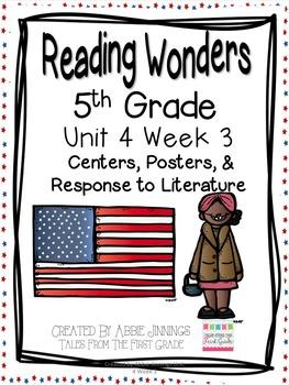 5th Grade Reading Wonders- Unit 4 Week 3