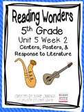 5th Grade Reading Wonders- Unit 5 Week 2