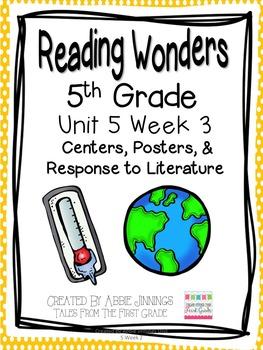 5th Grade Reading Wonders- Unit 5 Week 3