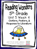 5th Grade Reading Wonders- Unit 5 Week 4