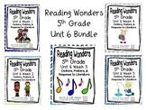 5th Grade Reading Wonders-  Unit 6 - Bundle