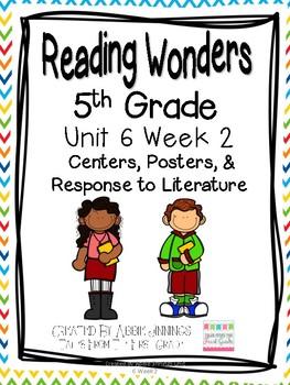 5th Grade Reading Wonders- Unit 6 Week 2