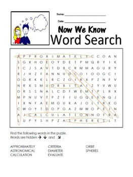 5th Grade Reading Wonders Word Search Activity Unit 5 Week 4