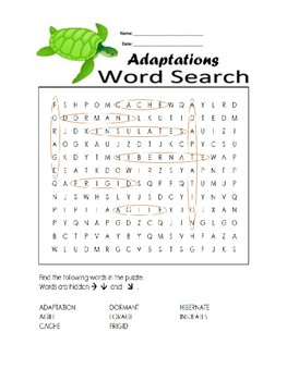 5th Grade Reading Wonders Word Search Activity Unit 6 Week 3