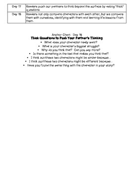 5th Grade Reading Workshop Unit 2:  Using Characters to Make Meaning
