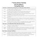 5th Grade Reading Workshop Unit 5b:  Fantasy Book Clubs