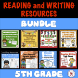 5th Grade Reading and Writing Resources BUNDLE - CCSS-aligned