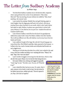 5th Grade Ready Louisiana Lesson 17: Point of View Test