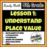 5th Grade Ready Math Lesson 1 - Interactive Slide Show
