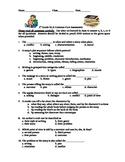 5th Grade ReadyGen ELA Quiz on lessons 1-8