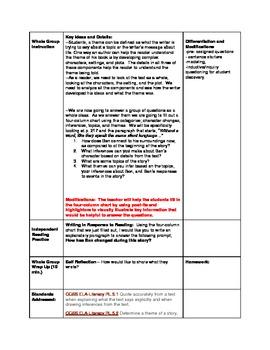 5th Grade ReadyGen Unit 1 Lesson 11